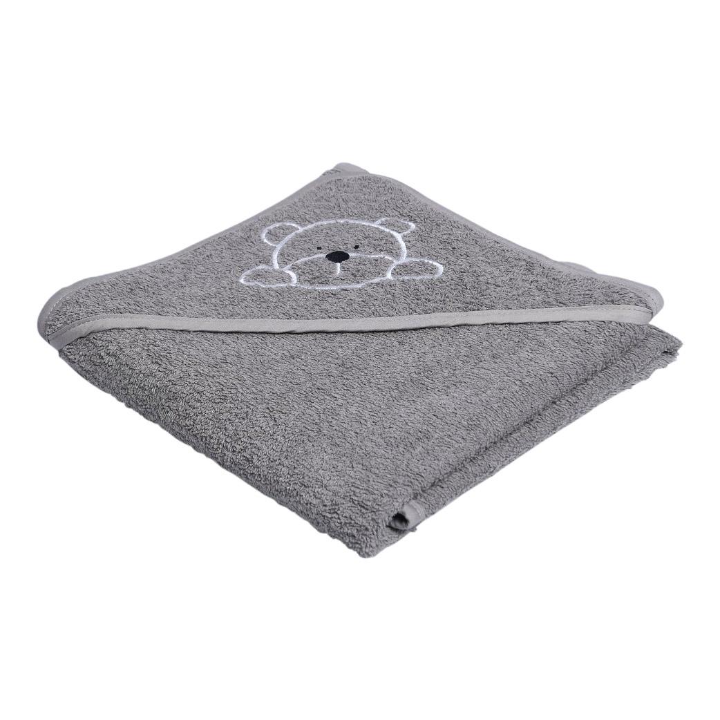 Babyhåndklæde – Grå manostiles