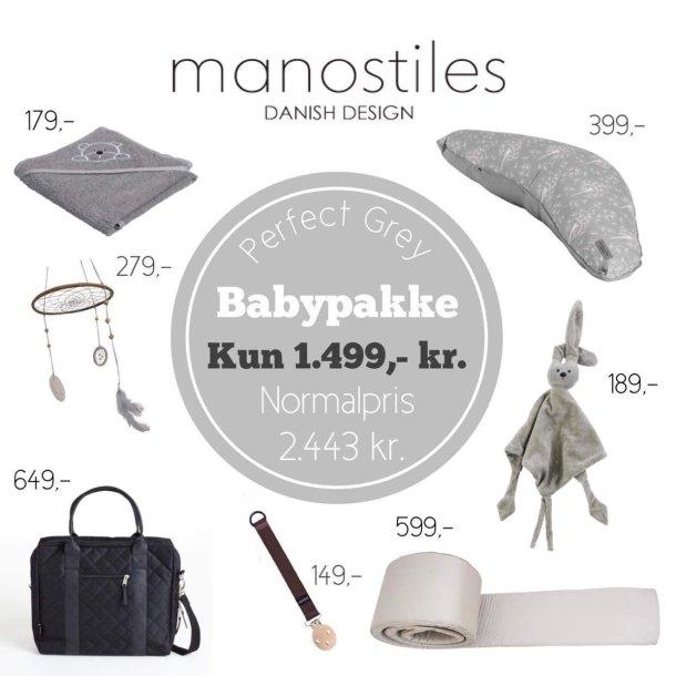 Baby luksuspakke grå Manostiles